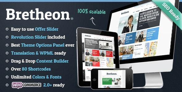 Bretheon v2.4.2 — Themeforest Premium WordPress Theme