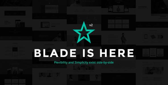 Blade v2.5.7 — Responsive Multi-Functional Theme