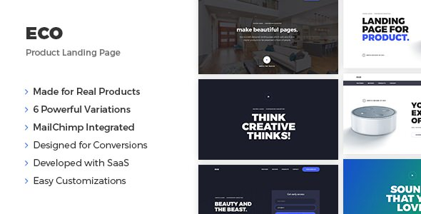 Eco — Product Landing Page