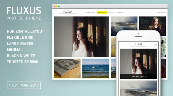 Fluxus v1.4.7 — Portfolio Theme for Photographers
