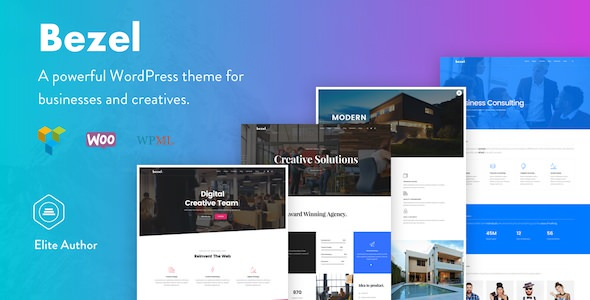 Bezel v1.0.8 — Creative Multi-Purpose WordPress Theme