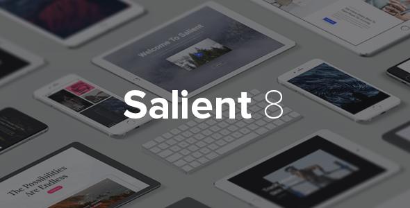 Salient v8.0.16 — Responsive Multi-Purpose Theme