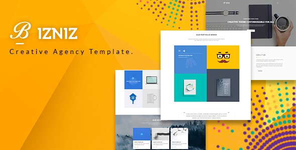 Bizniz — Creative Agency HTML Template