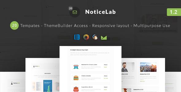 NoticeLab v1.2 — Email Notification Templates