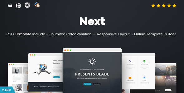 Suns — Responsive Email + Online Template Builder
