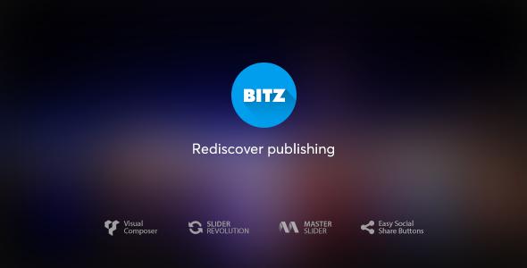 Bitz v1.2.1 — News & Publishing Theme