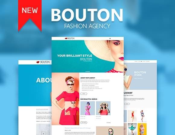 Bouton Fashion & Modeling Site Theme