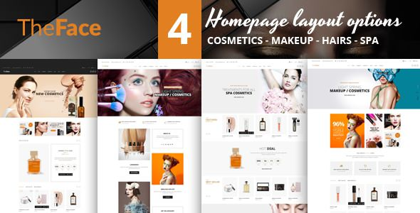Theface — Magento Theme for Beauty & Cosmetics Store