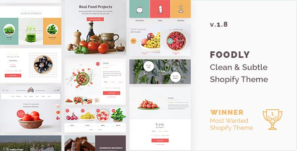 Foodly v1.8 — One-Stop Food Shopify Theme