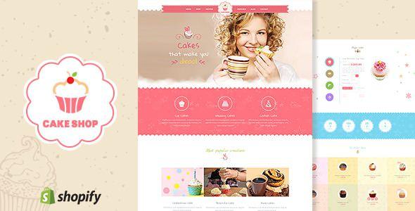 Cake Shop v1.2 — Bakery, Cafe Shopify Theme