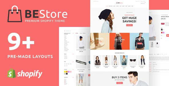 BEStore v1.0.4 — Shopify theme