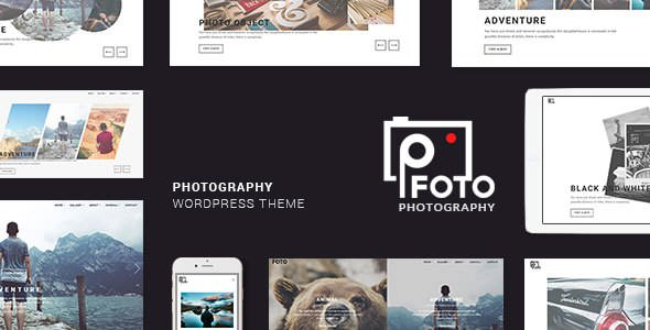 Foto v1.4 — Photography WordPress Themes for Photographers