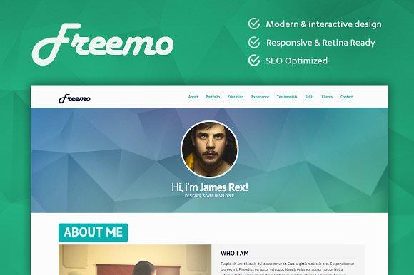 Freemo — Resume / Portfólio Theme
