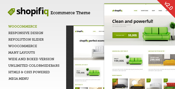 Shopifiq v2.4.5 — Responsive WordPress WooCommerce Theme