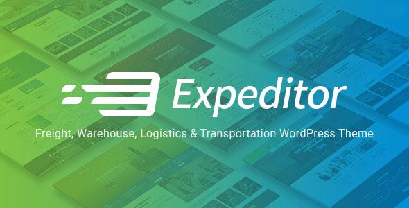 Expeditor v1.0 — Logistics & Transportation WordPress Theme