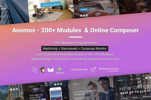Anemos 200 Modules + Online Composer