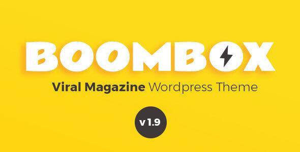BoomBox v1.9.1 — Viral Magazine WordPress Theme