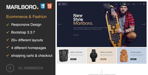 Marlboro — eCommerce HTML5 Template