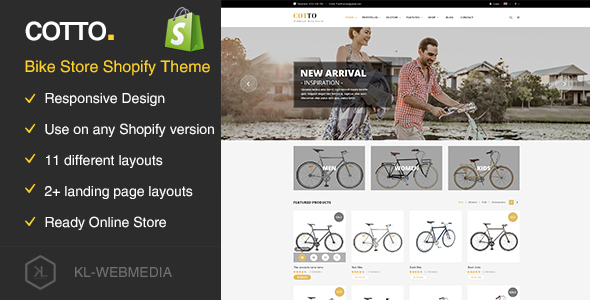 Cotto — Bike Store Shopify Theme