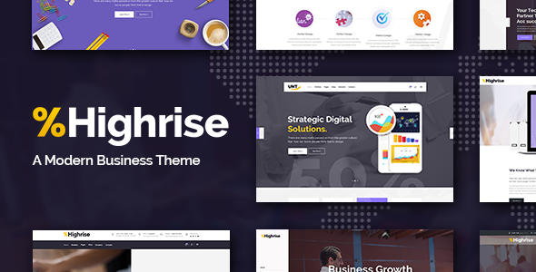 Highrise v1.0 — A Theme for Modern Businesses