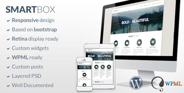 SmartBox v1.5.11 — Responsive WordPress Bootstrap Theme