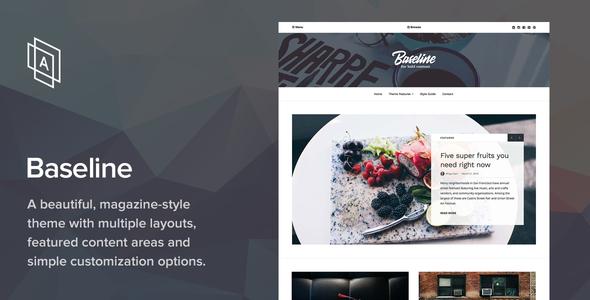 Baseline v1.2.5 — Magazine WordPress Theme