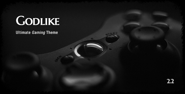 Godlike v2.2.0 — Game Theme for WordPress