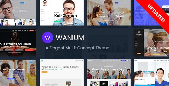 Wanium v1.2.2 — A Elegant Multi-Concept Theme