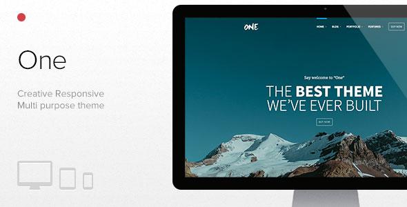 One v1.7.6 — The Creative Multipurpose Portfolio theme