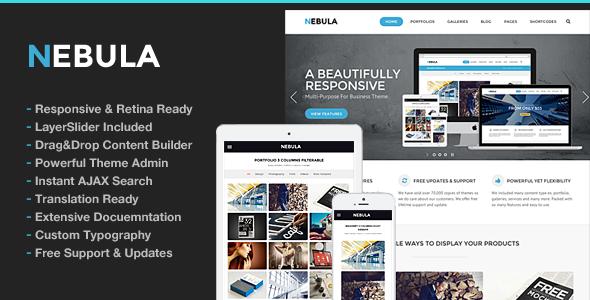 Nebula v1.5.6 — Responsive Multi-Purpose Theme