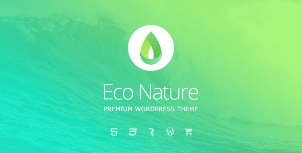 Eco Nature v1.3.2 — Environment & Ecology Theme