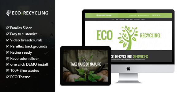 Eco Recycling v1.5.2 — a Multipurpose Woocommerce Theme