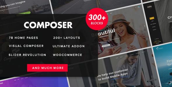 Composer v3.0.3 — Responsive High-Performance Theme