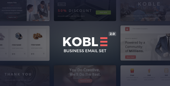 Koble v2.0.2 — Business Email Set