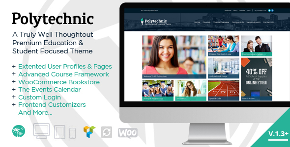 Polytechnic v1.3.5 — Powerful Education, Courses & Events