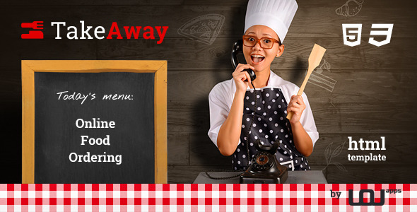 TakeAway — Restaurant & Online Food Ordering