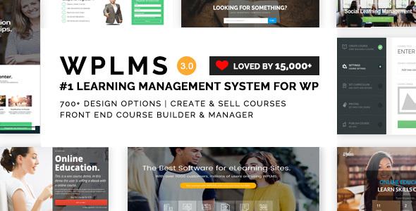 WPLMS v3.0.1 — Learning Management System for WordPress