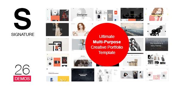 SIGNATURE — Multi-Purpose / Many Concept Portfolio