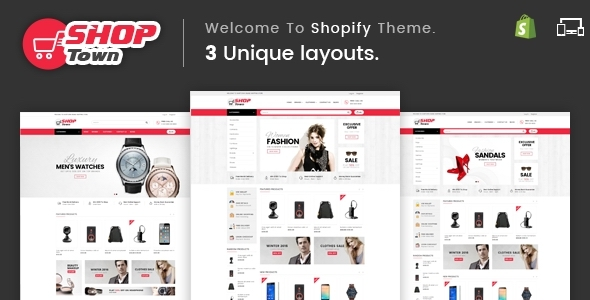 Shop Town — Sectioned Multipurpose Shopify Theme