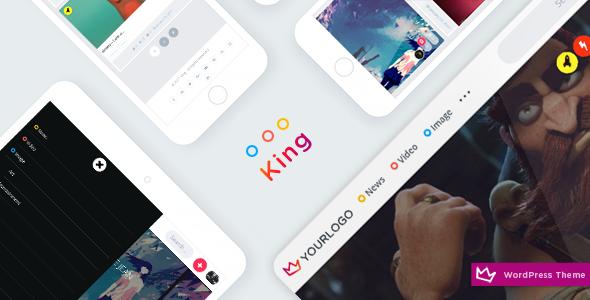 King v1.8 — WordPress Viral Theme