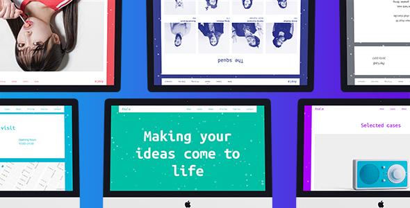 Axala — Creative Studio Portfolio Template