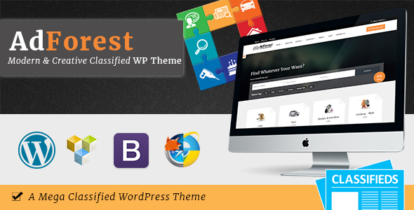 AdForest v2.5.2 — Classified Ads WordPress Theme