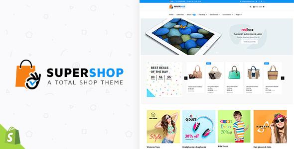 Super Shop v1.1 — Multipurpose, Multi Store Shopify Theme