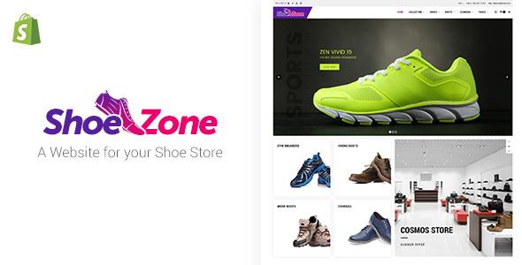 Shoe Zone v1.7 — Shopify Shoe Store