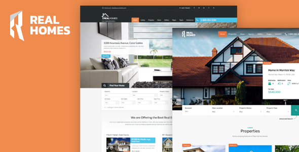 Real Homes v3.1.0 — WordPress Real Estate Theme