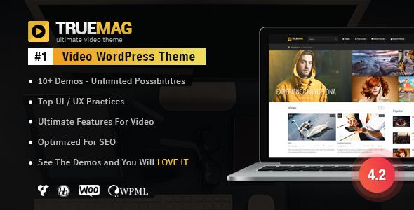 True Mag v4.2.11.1 — WordPress Theme for Video and Magazine