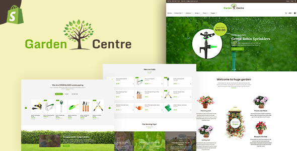 Garden Accessories — Gardening, Landscaping Tools Shopify Theme