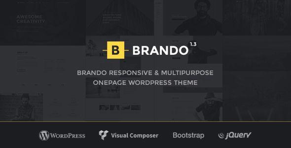Brando v1.3.1 — Responsive and Multipurpose OnePage Theme