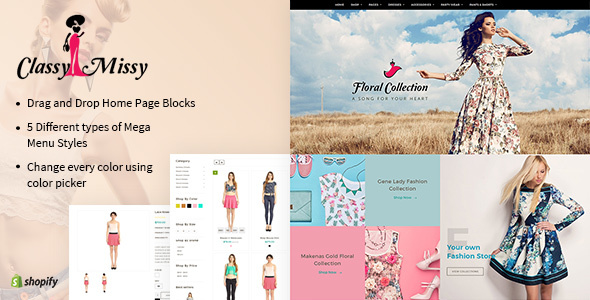 Classy Missy — A Fashion Store Shopify Theme