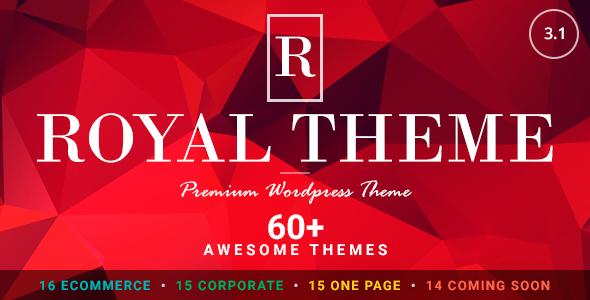 Royal v3.1 — Multi-Purpose WordPress Theme